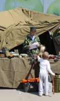 Празднование Дня Победы 9 мая 2013 года г.Москва, ул.Лескова
