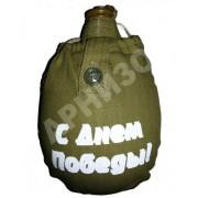 Чехол к фляге армейской с надписью (в ассортименте)