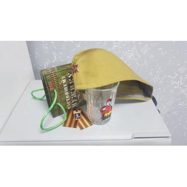 Подарочный набор «Lite» (пилотка+стакан+упаковка)