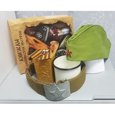 Подарочный набор Medium (Пилотка+стакан+упаковка)