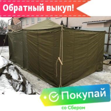 Аренда палатки «Гарнизон-8 комбинированной»